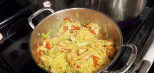 Stir-Fry Shrimp Ramen